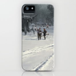 Battle before the battle iPhone Case