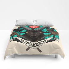 Black Phillip (The Witch) Comforters