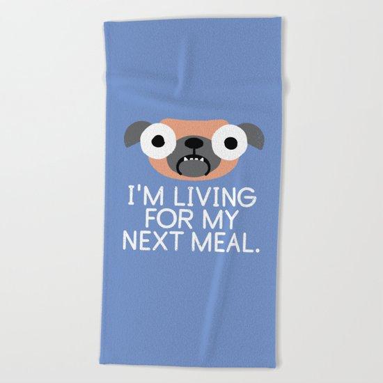 Stay Hungry Beach Towel