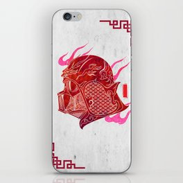 Red Darth iPhone Skin
