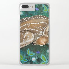 What Does the Fawn Dream? Clear iPhone Case