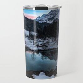 Zelenci springs at dusk Travel Mug