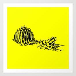 Extinct Art Print