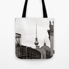 Deutsches Historisches Museum - Teletower - German Dome - Berlin Tote Bag