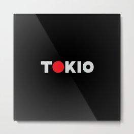Tokio Metal Print