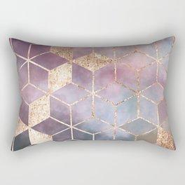 Petrol in a Rain Puddle Rectangular Pillow