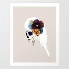 Versailles Skull Art Print