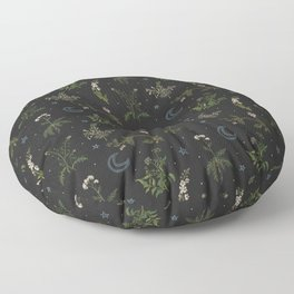 Witches Garden Floor Pillow