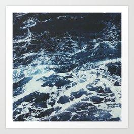 Dark Ocean Art Print