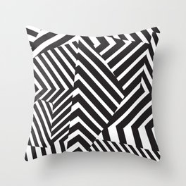 Pattern - Camo - Dazzle Throw Pillow