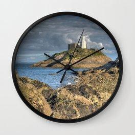 Swansea Lighthouse Mumbles Wall Clock