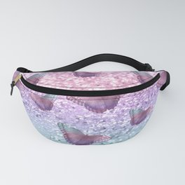 Pastel Unicorn Butterfly Glitter Dream #1 #shiny #decor #art #society6 Fanny Pack