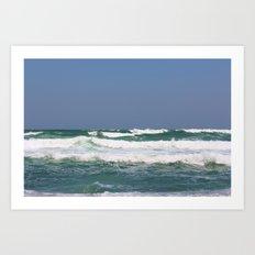 Sea & Sky Art Print
