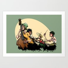 The Band II Art Print