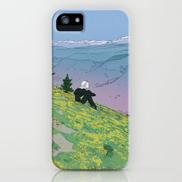 Alone Not Lonely iPhone Case