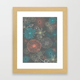Grey Dreams Framed Art Print