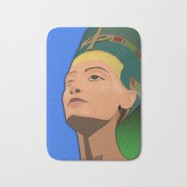 Ancient Relics: Nefertiti Bath Mat