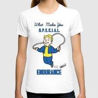 fallout T-shirts featuring Endurance S.P.E.C.I.A.L. Fallout 4 by sgrunfo