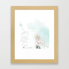 Gone Away Framed Art Print