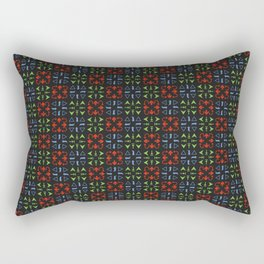 Arrows Pattern Color Rectangular Pillow