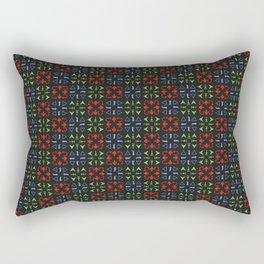 Arrows Pattern Color Rectangular Pillow