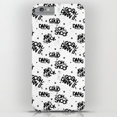 PG Cussin' Pattern iPhone 6 Plus Slim Case