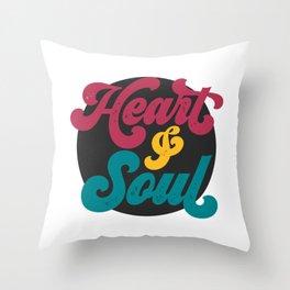 Heart & Soul Throw Pillow