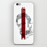 lincoln iPhone & iPod Skins featuring Lincoln by TheMaddhattR