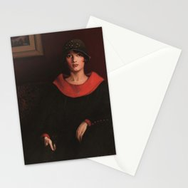 African-American 1925 Classical Masterpiece the Octoroon Girl by Archibald Motley Stationery Cards
