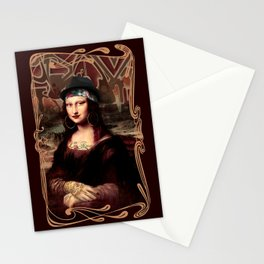Chicana Mona Lisa Stationery Cards