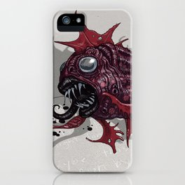 Bruxapomadasys iPhone Case