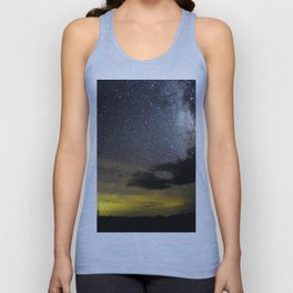 Red Feather Milky Way Unisex Tank Top