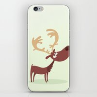 moose iPhone & iPod Skins featuring Moose by ValD