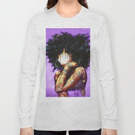 Naturally II PURPLE Long Sleeve T-shirt