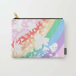 Rainbow Stripes 11 Carry-All Pouch