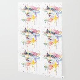 Mina watercolor face Wallpaper