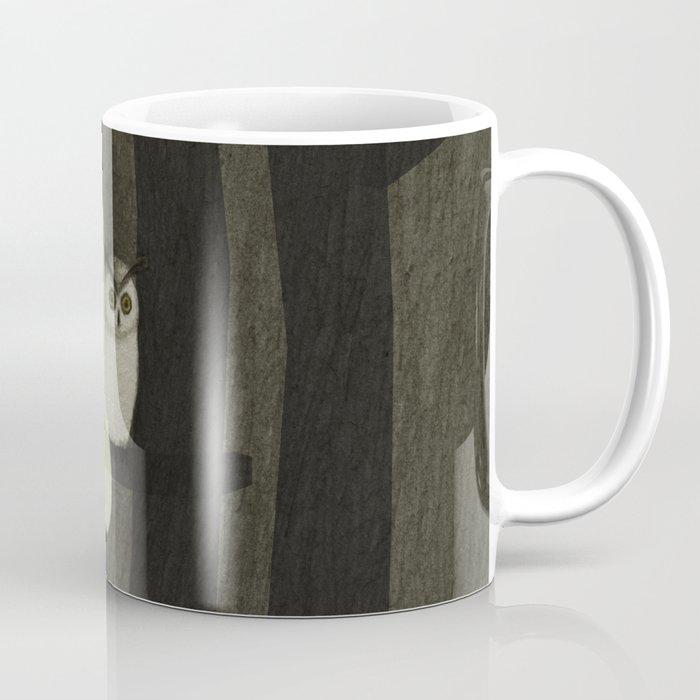 Little Ghost & Owl Coffee Mug