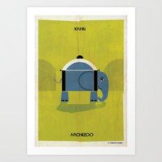 010_elephant Art Print