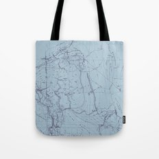 Contour Mapping v.2 Tote Bag