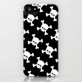 Skull Crossbones Symbol iPhone Case