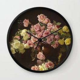 John William Waterhouse - The Soul Of The Rose Wall Clock