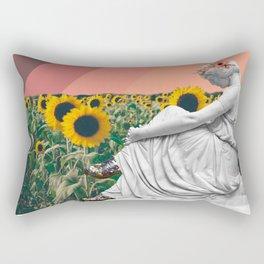 Nobody Understands Me in Marble Rectangular Pillow