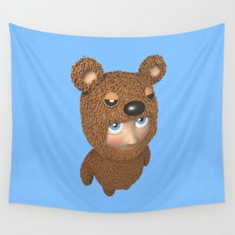 Furry baby Wall Tapestry