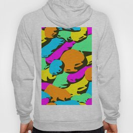 stone colorful pattern. Hoody