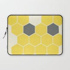 Yellow Honeycomb Laptop Sleeve