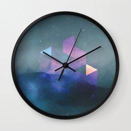interlaced Wall Clock