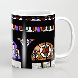 Colorful Rainbow Stain Glass Persian Window Art Coffee Mug