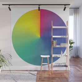 Gradient Orbit Wall Mural