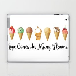 Love CoNes In Many Flavors Laptop & iPad Skin