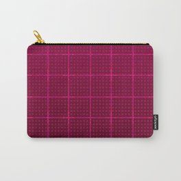 Glama Checks (Maroon) Carry-All Pouch